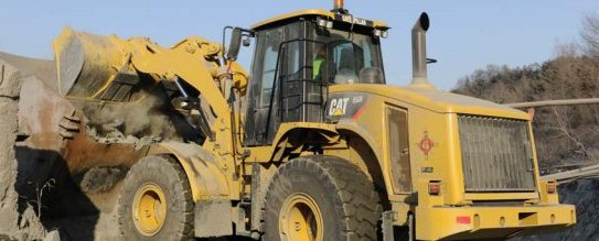 CATERPILLAR-950-Radlader